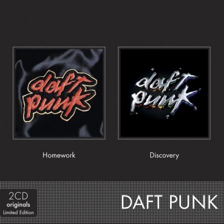 傻瓜龐克 / 耶誕套組 (2CD)(Daft Punk / Homework + Discovery【2CD】)