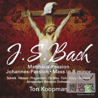 湯庫普曼(指揮)阿姆斯特丹巴洛克古樂團 / 巴哈:三大宗教作品 (7CD) TON KOOPMAN / JS BACH : ST MATTHEW PASSION, ST JOHN PASSION, B MINOR MASS (7CD)
