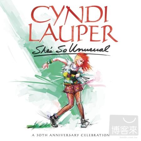 辛蒂羅波 / 她是如此與眾不同 30週年豪華紀念版 (LP彩膠唱片)(Cyndi Lauper / She's So Unusual: A 30th Anniversary Celebration (