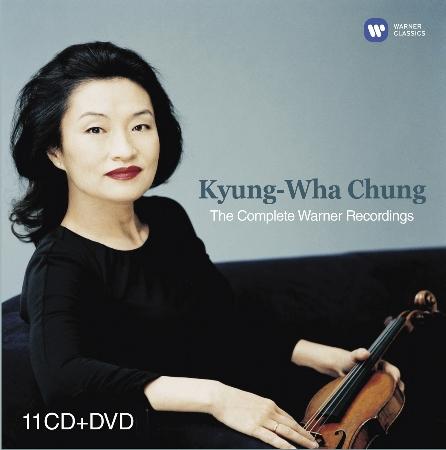 小提琴家鄭京和的華納錄音全集 / 鄭京和〈小提琴〉(11CD+DVD)(Kyung-Wha Chung: The Complete Warner Recordings / Kyung-Wha Chun