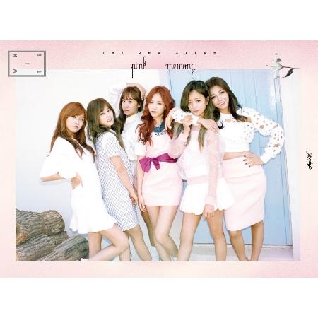 Apink / Pink MEMORY 台灣獨家小卡盤 (White Version)