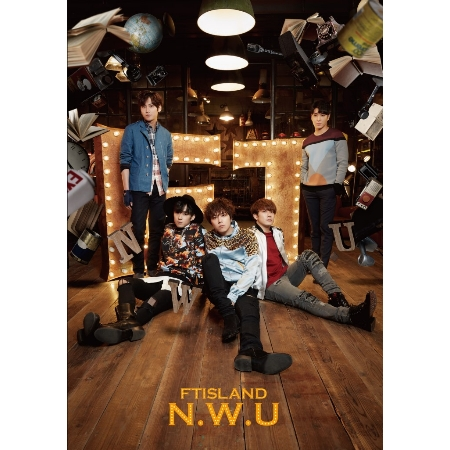 FTISLAND / 最新日文正規專輯《N.W.U》台灣獨占豪華精裝限定盤 (CD+DVD)