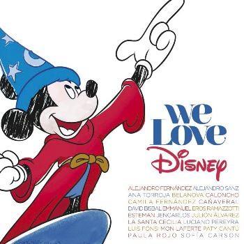 V.A. / We Love Disney -Version Latino (CD+DVD)