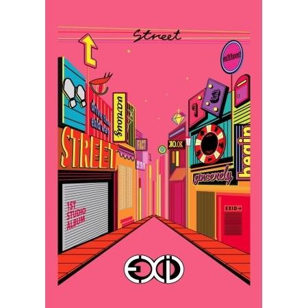 EXID / 1ST STUDIO ALBUM [STREET] (進口版)