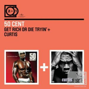 50 Cent / 2 for 1: Get Rich Or Die Tryin' + Curtis (2CD)
