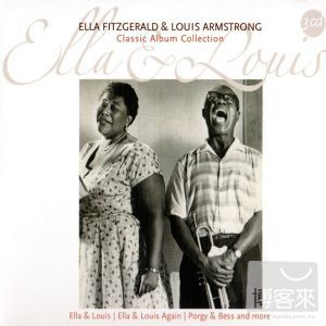 Ella Fitzgerald & Louis Armstrong / Classic Album Collection (3CDs)