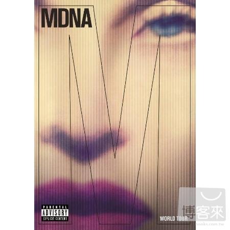 瑪丹娜 / MDNA 世紀巡迴實錄 【2CD+DVD精裝盤】(Madonna / MDNA World Tour (2CD+DVD))