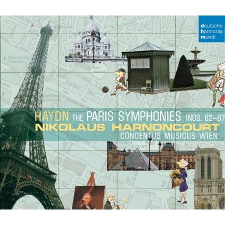 海頓︰《巴黎交響曲》第82-87號 / 哈農庫特 (3CD)(Haydn: Paris Symphonies / Nikolaus Harnoncourt (3CD))