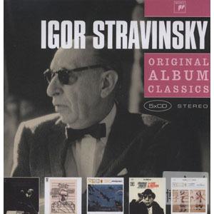 Igor Stravinsky / Original Album Classics 5CD