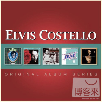 皇帝艾維斯 / 經典5CD限量版(Elvis Costello - Original Album Series [5CDs Boxset])