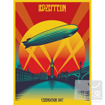 齊柏林飛船 / 2007倫敦演唱會實錄 (2CD+藍光BD)(Led Zeppelin / Celebration Day (2CD+Blu-ray))