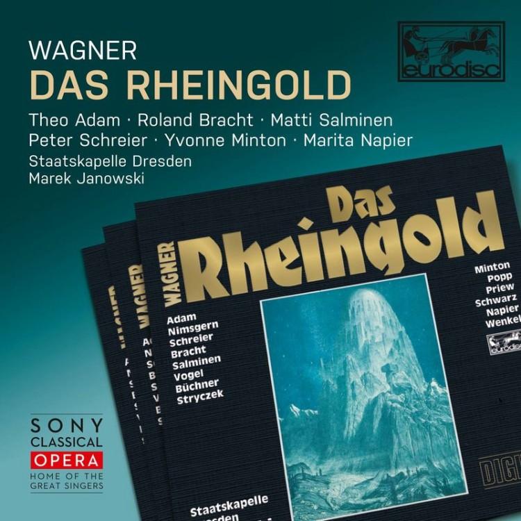 《Sony Classical Opera》Wagner: Das Rheingold, WWV 86A / Marek Janowski (2CD)