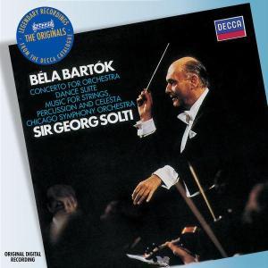 巴托克:管弦協奏曲、舞蹈組曲、為弦樂器、打擊樂器與鋼片琴所作 / 蕭提 指揮 芝加哥交響樂團 Bartok: Concerto for Orchestra; Dance Suite, etc.