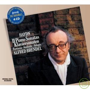 海頓:11首鋼琴奏鳴曲(4CDs) / 布蘭德爾(鋼琴) Haydn: 11 Piano Sonatas / Alfred Brendel