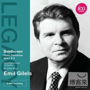 貝多芬:第1&3號鋼琴協奏曲/ 吉利爾斯(鋼琴)、鮑爾特爵士(指揮)新愛樂管弦樂團 Beethoven: Piano Concertos Nos. 1 and 3 / Gilels, Boult, New Philharmonia Orchestra