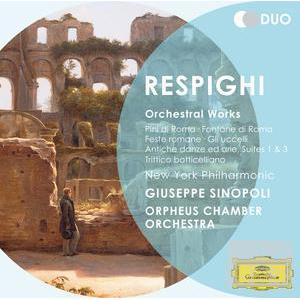 Respighi: Orchestral Works / New York Philharmonic, Giuseppe Sinopoli (2CD)