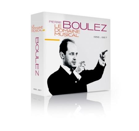 音樂天地 - 1956 - 1967年錄音/ 布列茲90大壽紀念發行 (10CD)(Pierre Boulez / le Domaine Musical 1956 …1967 (10CDs))