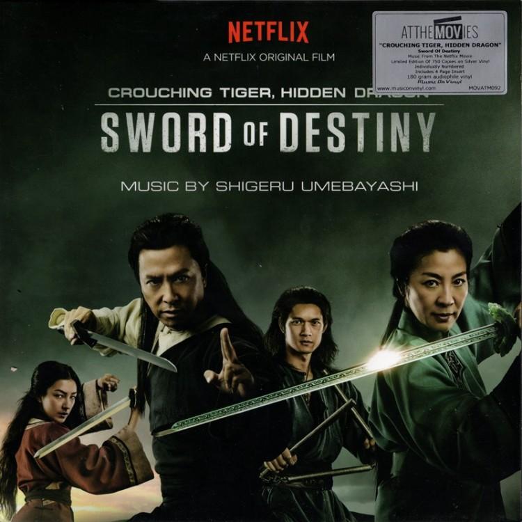 OST / Shigeru Umebayashi:Crouching Tiger, Hidden Dragon - Sword Of Destiny (180g 2LP)