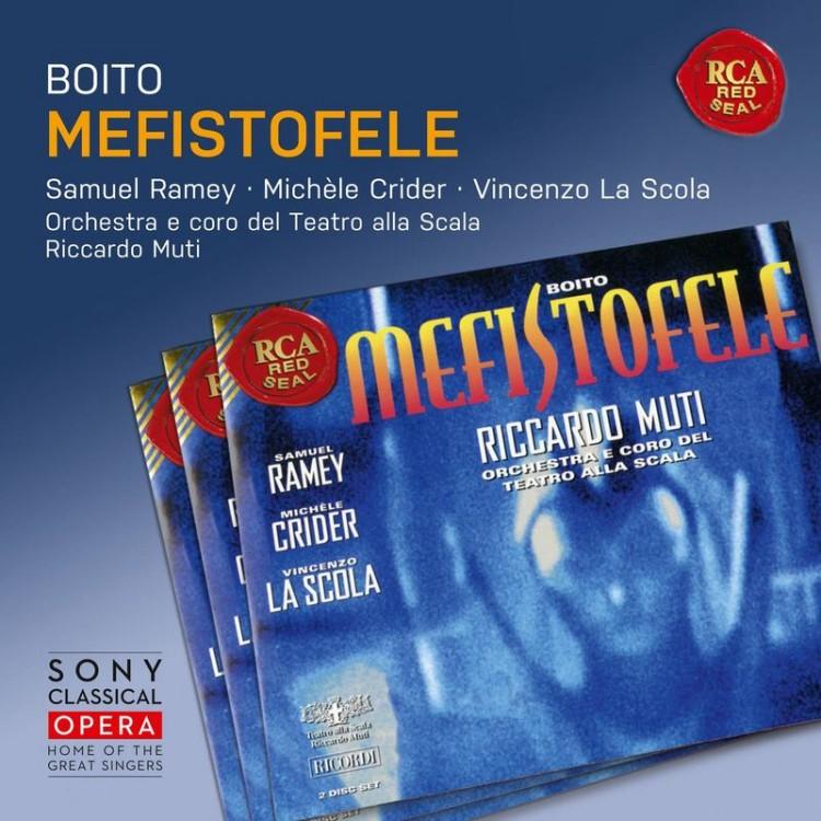 《Sony Classical Opera》Boito: Mefistofele / Riccardo Muti (2CD)