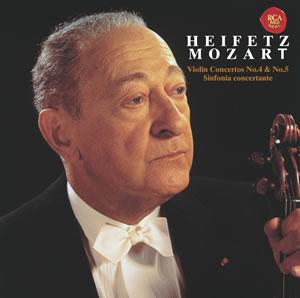 莫札特:第4號小提琴協奏曲&第5號小提琴協奏曲 / 海飛茲(小提琴) Mozart: Violin Concertos Nos.4 & 5 / Heifetz