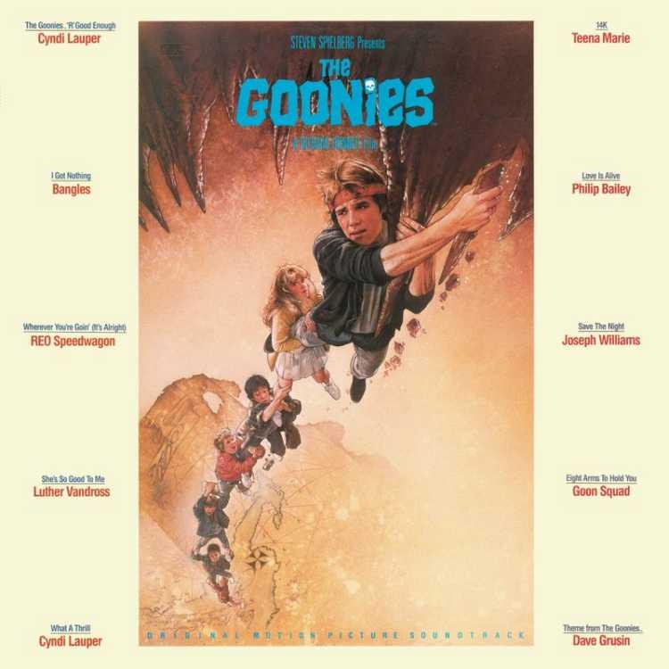 電影原聲帶 / 七寶奇謀 (LP黑膠唱片)(OST / The Goonies : V.A. (Vinyl))