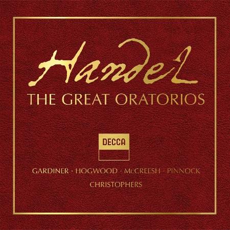 Handel: The Great Oratorios / Hogwood / Gardiner / Pinnock / McCreesh / Christophers (41CD)