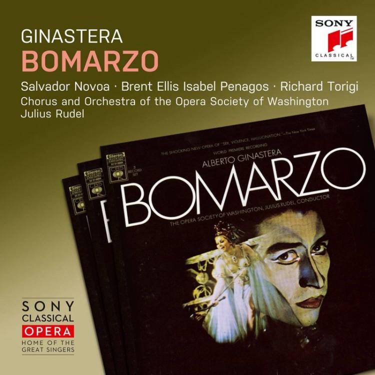 《Sony Classical Opera》Ginastera: Bomarzo / Julius Rudel (2CD)