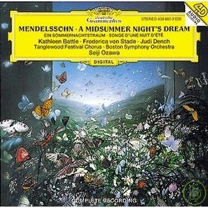 孟德爾頌:「仲夏夜之夢」作品21 & 61 / 小澤征爾 (指揮) 波士頓交響樂團(Mendelssohn: A Midsummer Night's Dream, op.21 & op.61 / Se