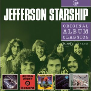傑佛遜星船合唱團 / 經典專輯全集(5CD)(Jefferson Starship / Original Album Classics (5CD))