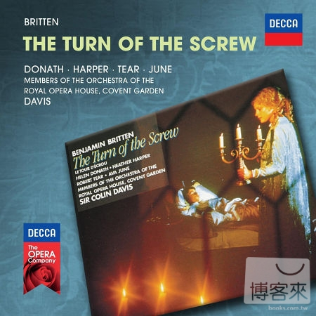 布烈頓︰碧廬冤孽 / 多奈絲 / 哈潑 / 提爾 / 戴維斯 (2CD)(Britten: The Turn of the Screw / Donath / Harper / Tear / June