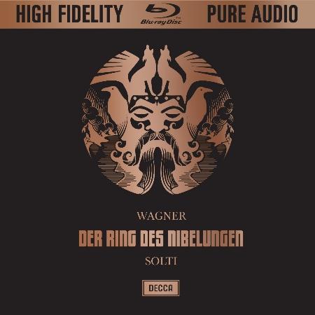 華格納:尼貝龍的指環全集 / 費雪迪斯考、尼爾森、溫特嘉森、尼德林格等演唱 (藍光音樂片)(Wagner Ring / Solti / Wiener Philharmoniker)