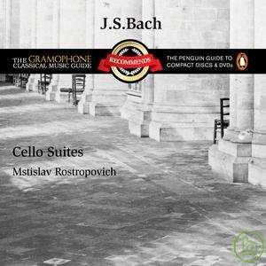 Mstislav Rostropovich / Bach - Cello Suites