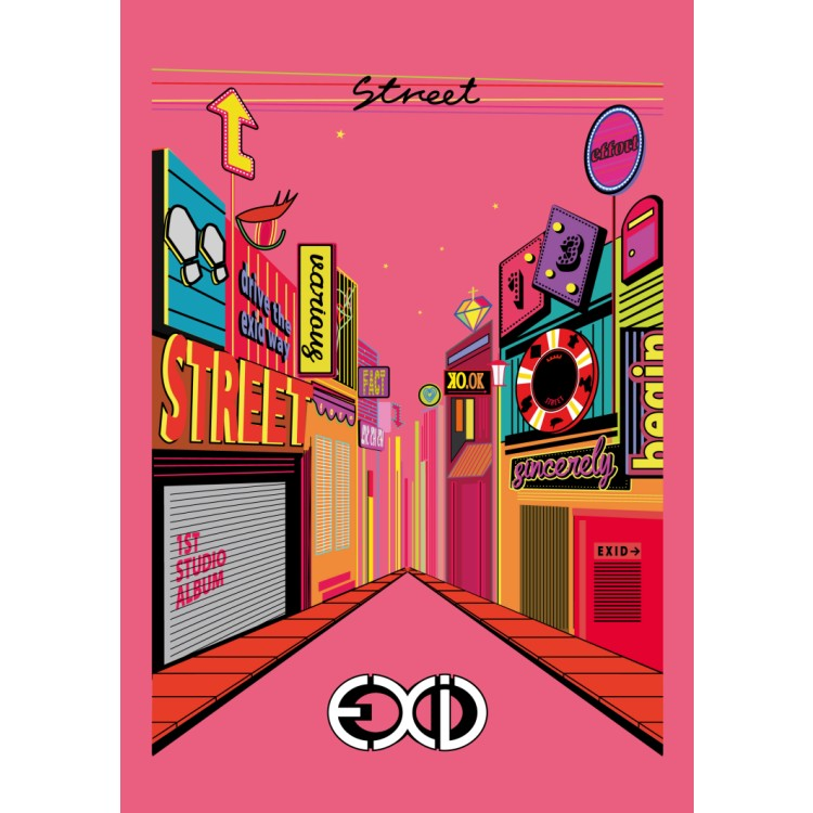 EXID / 首張正規專輯STREET台灣獨家盤