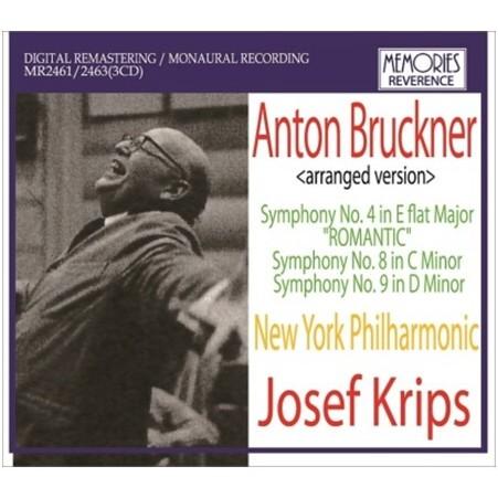 Josef Krips conducts Bruckner / Josef Krips (3CD)