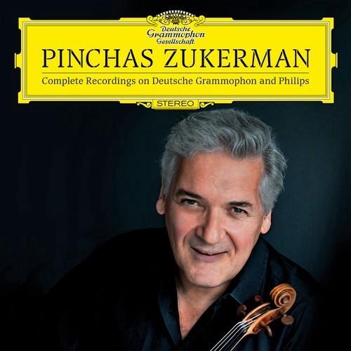 Pinchas Zukerman / Complete Recordings on Deutsche Grammophon & Philips (22CD)