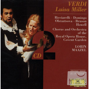 Luisa MILLER - Opéra de G VERDI 0020009218