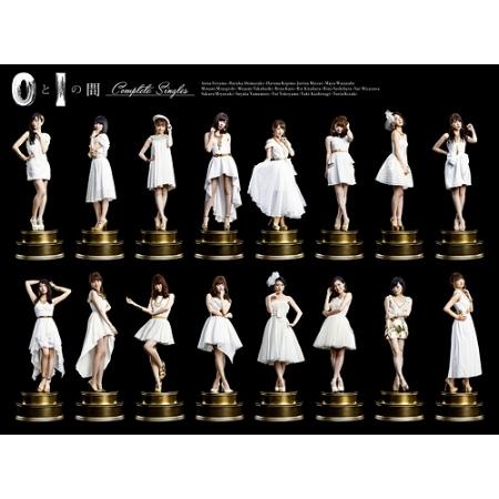 AKB48 / 0與1之間【Complete Singles】(3CD+DVD+PHOTOBOOK)