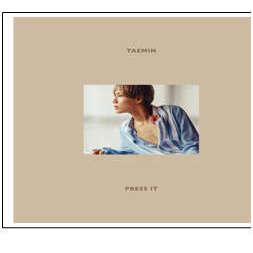 泰民 / 第一張正規專輯「PRESS IT」(台壓版_A)