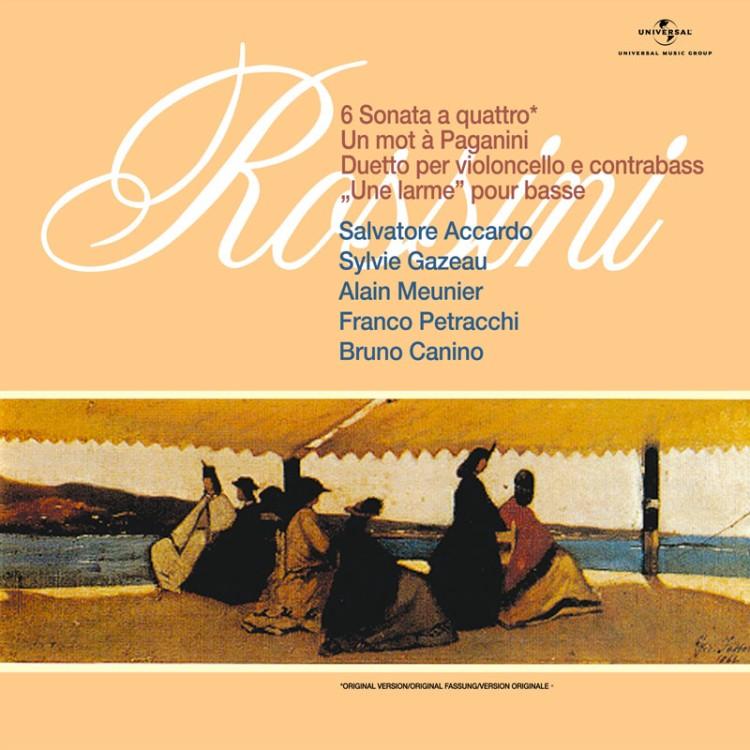 羅西尼弦樂奏鳴曲180G / 阿卡多 (2LP黑膠唱片)
