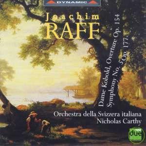Nicholas Carthy / Raff:Overture Op.154 Symphony Op. 177