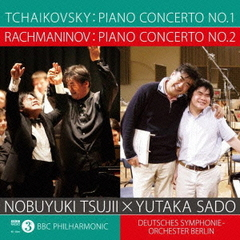 柴可夫斯基:鋼琴協奏曲第一號、拉赫曼尼諾夫:鋼琴協奏曲第二號 / 辻井伸行 x 佐渡裕 (日本進口初回限定版, 2CD) Tchaikovsky: Piano Concerto No. 1, Rachmaninov: Piano Concerto No. 2 / Nobuyuki Tsujii x Yutaka Sado