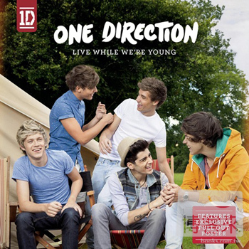 1世代 / 青春不留白 One Direction / Live While We're Young
