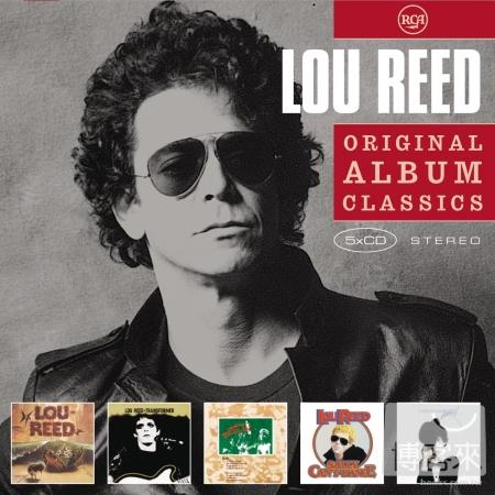 《紀念搖滾宗師》路瑞德 / 經典專輯全集 (5CD)(Lou Reed / Original Album Classics (5CD))