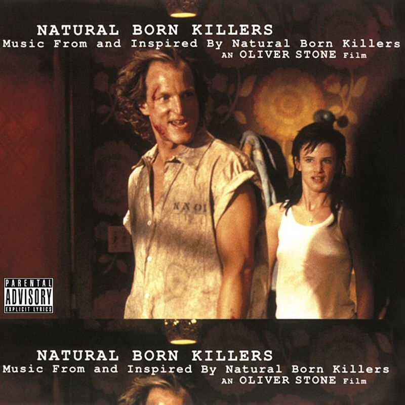 電影原聲帶:閃靈殺手 (限量紅色膠片版 180g 2LPs)(Original Soundtrack : Natural Born Killers (Blood Red Colored 180g 2L