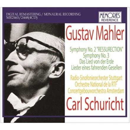 Carl Schuricht conducts Mahler / Carl Schuricht (4CD)