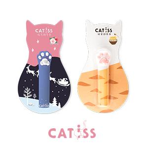 【貓是用來抱的】抽貓掌護唇膏