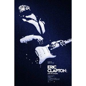 《艾瑞克克萊普頓:藍調天堂路》英文原版海報