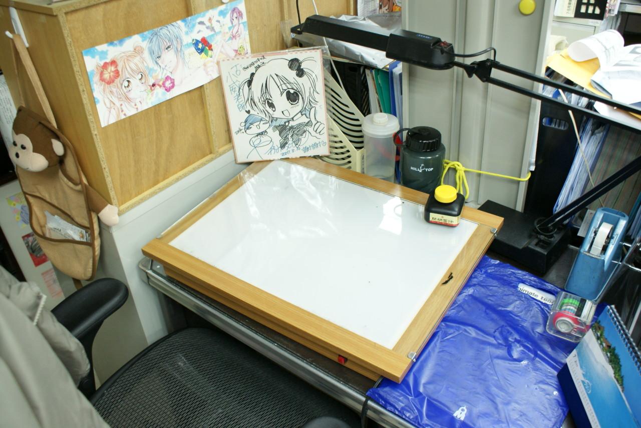 神秘7_小威老師的工作桌