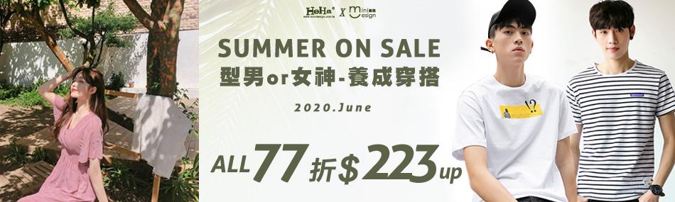 Mini嚴選 x HeHa On Sale,全面77折