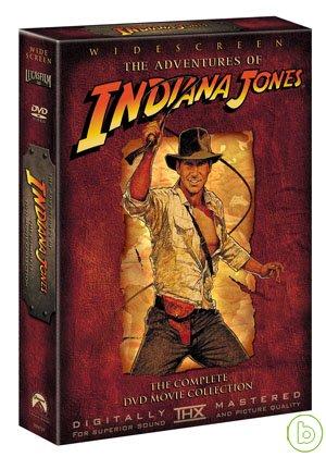 【印第安納瓊斯】四碟套裝系列 DVD Indiana Jones Box Set